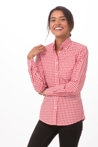GINGHAM Damenbluse Urban Collection Artikel W500