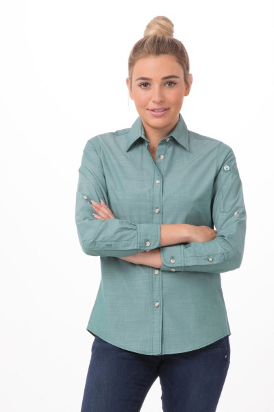 CHAMBRAY Damenbluse Urban Collection SLWCH002