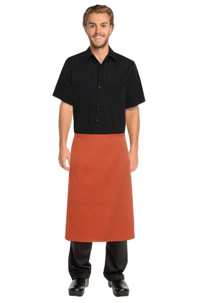 Short Rust Apron