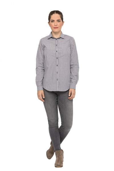 GINGHAM Damenbluse Pastell